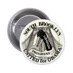 Brooklyn for Obama 2012 6 Cm Round Badge