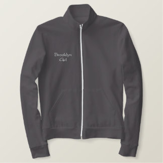 Brooklyn Girl Jogging Jacket
