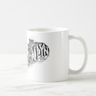 Brooklyn is for thrills! coffee mugs