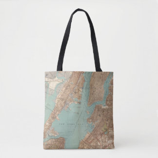 Brooklyn, Jersey City, and Hoboken Tote Bag