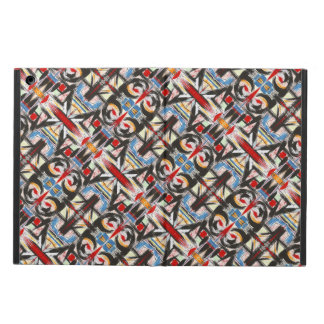 Brooklyn-Modern Brushstrokes Geometric Cover For iPad Air