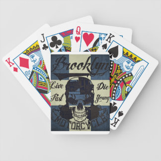 Brooklyn Motorcycle Club Bicycle Playing Cards