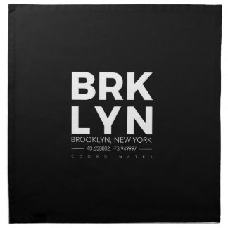 brooklyn napkin