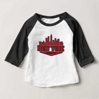 Brooklyn New York | Block Style Script Baby T-Shirt