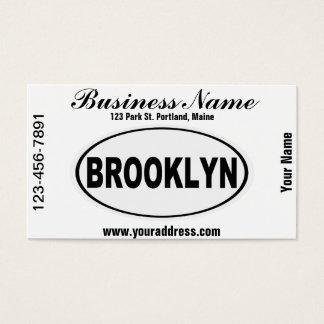 Brooklyn New York Business Card