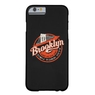 Brooklyn New York City | Retro Typography Barely There iPhone 6 Case