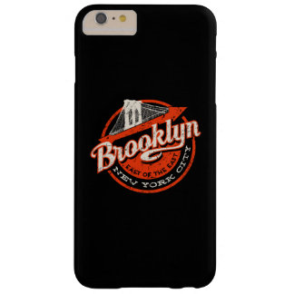 Brooklyn New York City | Retro Typography Barely There iPhone 6 Plus Case