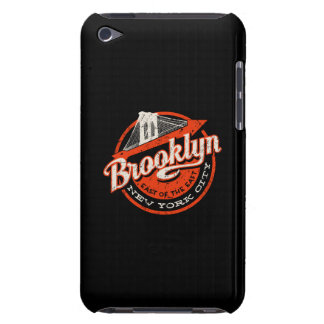 Brooklyn New York City   Retro Typography Case-Mate iPod Touch Case