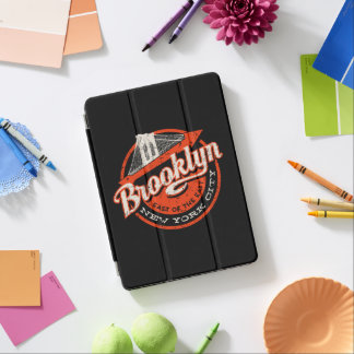 Brooklyn New York City | Retro Typography iPad Air Cover