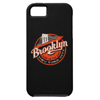 Brooklyn New York City | Retro Typography iPhone 5 Case