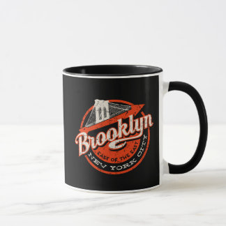 Brooklyn New York City | Retro Typography Mug