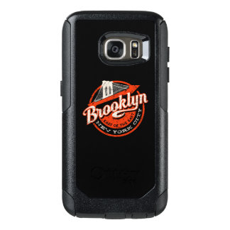 Brooklyn New York City | Retro Typography OtterBox Samsung Galaxy S7 Case