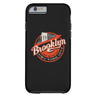 Brooklyn New York City | Retro Typography Tough iPhone 6 Case
