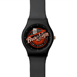 Brooklyn New York City | Retro Typography Watch