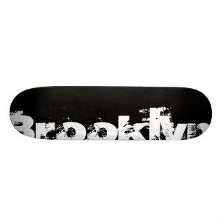Brooklyn - New York, Cool, Bold, Black And White 19.7 Cm Skateboard Deck
