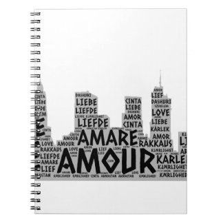 Brooklyn New York illustrated with Love Word Notebooks