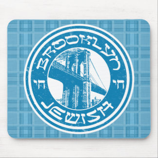 Brooklyn New York Jewish Mousemat