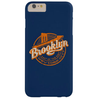 Brooklyn, New York | Retro Vintage Typography Barely There iPhone 6 Plus Case