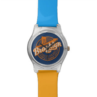Brooklyn, New York | Retro Vintage Typography Watch