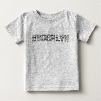 Brooklyn NY Typography Tee Shirt, BK, New York