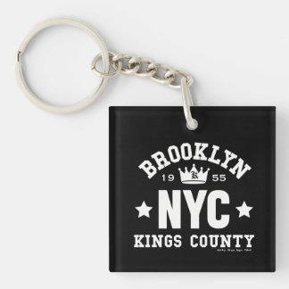 BROOKLYN NYC KEY RING
