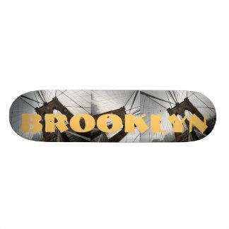 Brooklyn skateboard bridges spiderwebs NYC