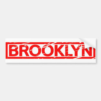 Brooklyn Stamp Bumper Sticker
