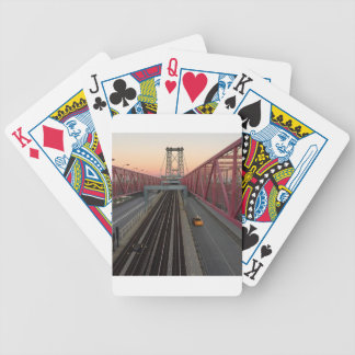 Brooklyn Taxi Bicycle Playing Cards