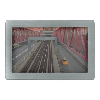 Brooklyn Taxi Rectangular Belt Buckle
