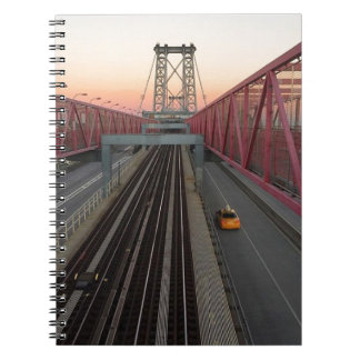 Brooklyn Taxi Spiral Notebooks