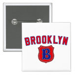 Brooklyn Throwback 15 Cm Square Badge