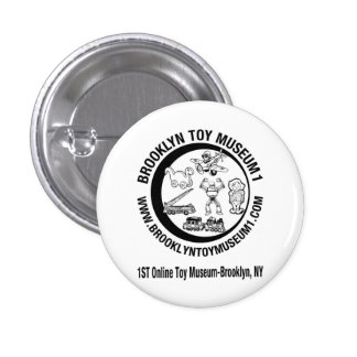 BROOKLYN TOY MUSEUM 1 3 CM ROUND BADGE