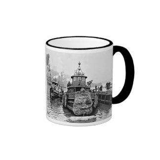 Brooklyn Tugs Ringer Coffee Mug