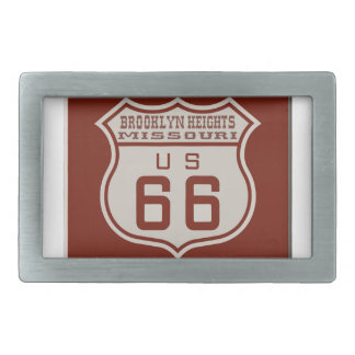 BROOKLYNHEIGHTS66 RECTANGULAR BELT BUCKLE