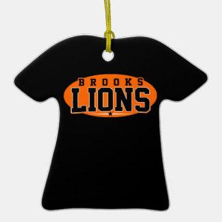 Brooks High School Lions Ornaments