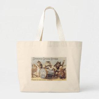 Brooks Spool Cotton Tote Bags