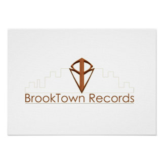 BrookTown Records Poster