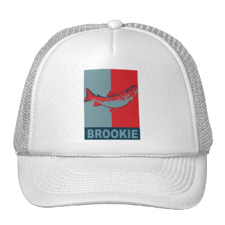 BrookTrout Iconized freshwater fish species Trucker Hat