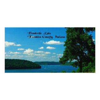 Brookville Lake, Franklin County Indiana Custom Photo Card