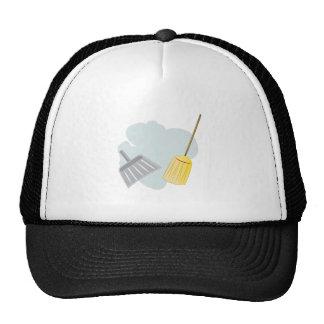 Broom and Dust Pan Cap