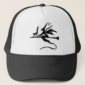 Broom Rider Trucker Hat