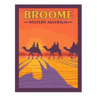 Broome Western Australia - Vintage Travel Postcard