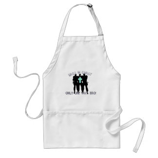 Bros in Christ - Only One Way Bro! Standard Apron