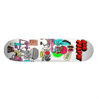 Brotha from anotha mutha 18.1 cm old school skateboard deck
