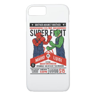 Brother Against Brother Glossy Phone Case