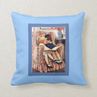 Brother and Sister American MoJo Pillow
