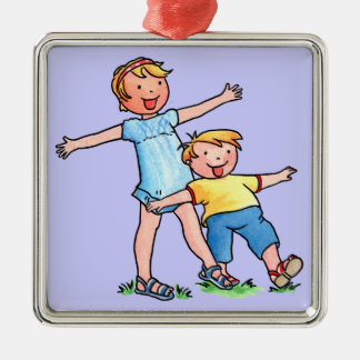 Brother and Sister Ornament