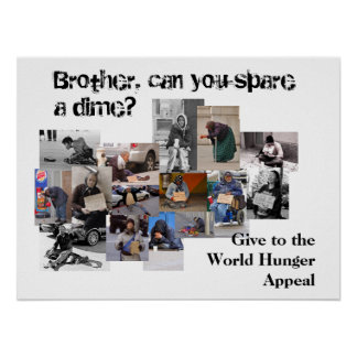Brother, can you spare a dime? poster