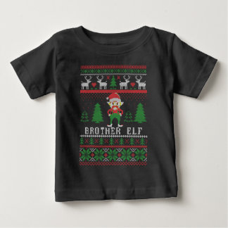 Brother Elf Ugly Christmas Baby T-Shirt