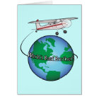 Brother Happy Birthday with Aeroplane Card